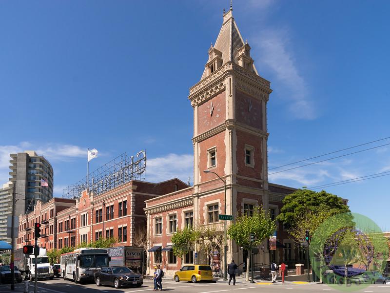 The Ghirardelli Chocolate Factory Clock